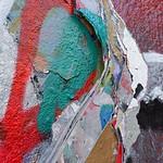 Zoom sur les couches de peinture