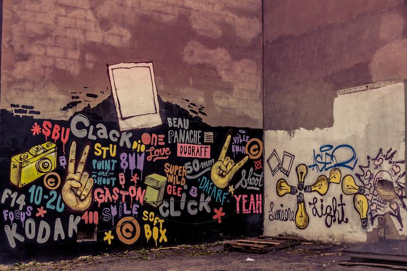 Graffitis à la Dugraff