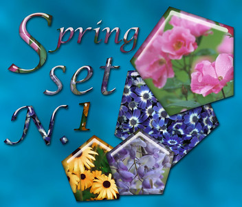 Adobe photoshop styles: Spring set 1 - for free download you visit http://share.studio.adobe.com (photoshop - styles)