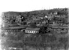 View of B&O shops and downtown area of Grafton, WV 1890's.
