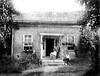 Family Home of Marmaduke Dent, Front Street, Grafton, W. Va. (Facing Creek) late 1800's