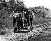 Railroad Crew Near Grafton, Taylor County, W. Va.<br /> Date ca. 1890