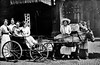 Women in a Horse-Drawn Carriage, Grafton, W. Va.