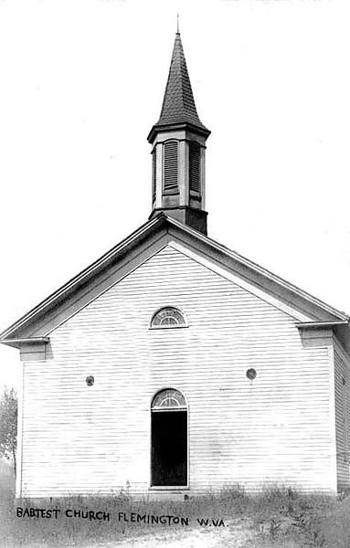 BaptistChurchFlemington1908