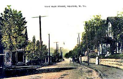 GraftonWV-WestMainStreetPC1909-p1
