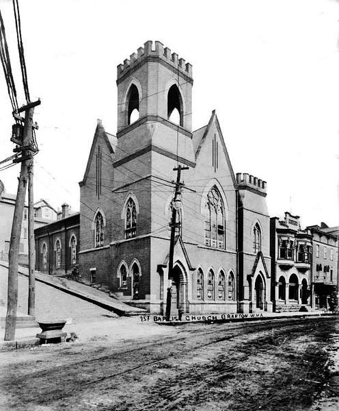First Baptist Church, Grafton, W. Va.<br /> Date 1909