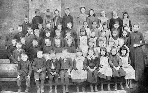 Grafton Graded School, Taylor County - 1890, second primary, Ida Smedley teacher