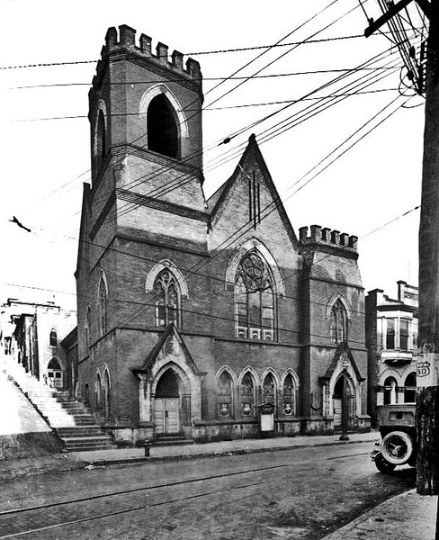 Baptist Church, Grafton, W. Va.<br /> Date 1911