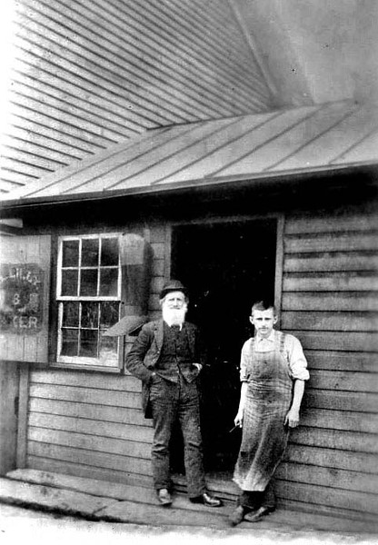 Lilly's Shoe Shop, Grafton, W. Va.<br /> Date ca. 1881- 1884