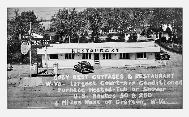 GraftonWV-CozyRestRestaurant1940s-a1