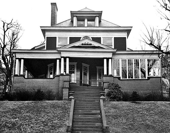 Jolliffe Home on Main Street, Grafton, WV.