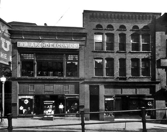 Date 1925 - Archdeacon & Murry Store on Latrobe Street in Grafton, West Virginia.