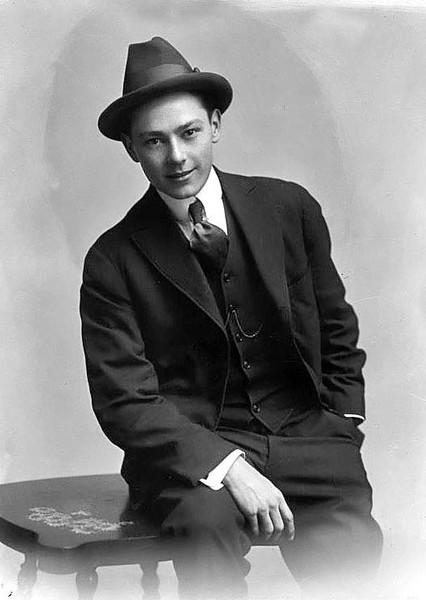 Member of F. LaMonte Merry Makers, Grafton, W. Va. 1916