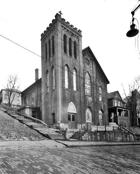 St. Paul's Evangelical Lutheran Church, Grafton, W. Va.<br /> Date 1928