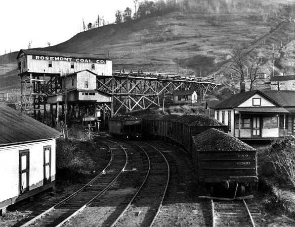 Rosemont Coal Company near Flemington, W. Va.