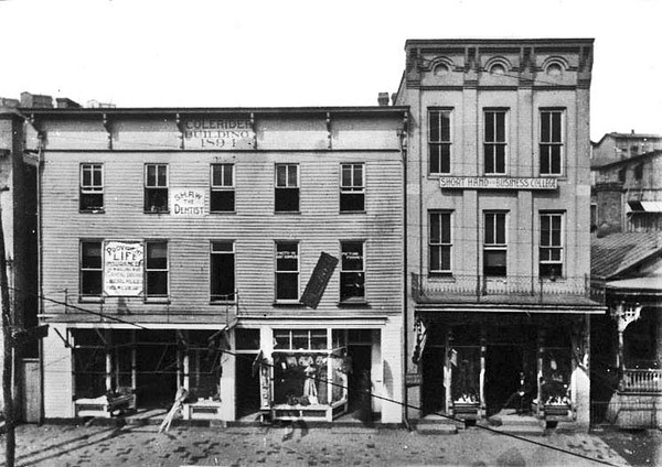 Colerider Building and Short Hand and Business College, Grafton, W. Va.<br /> Date ca. 1890
