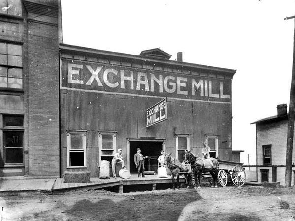 Exchange Mill, Grafton, W. Va.<br /> Date ca. 1890