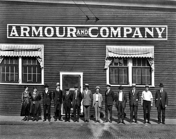 Armour and Company Employees, Grafton, W. Va.<br /> Date ca. 1921