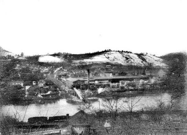 Factory at Grafton, W. Va.<br /> Date ca. 1890