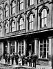 Brinkman's and Company Store, Grafton, W. Va.<br /> Date 1889