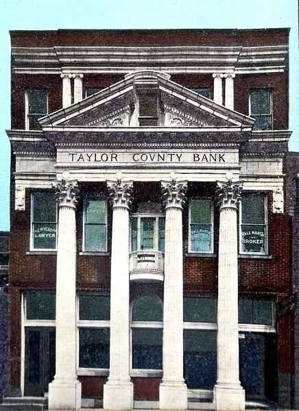 GraftonWV-TaylorCountyBankEarly1900s-ss1