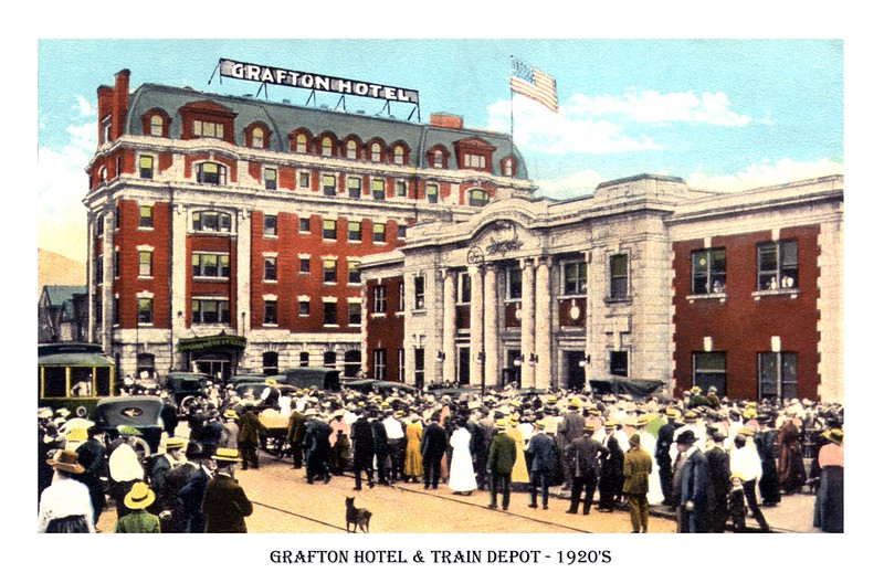 graftonhotel&station1920's