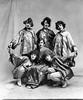Entertainers in Asian Costumes, Grafton, W. Va.