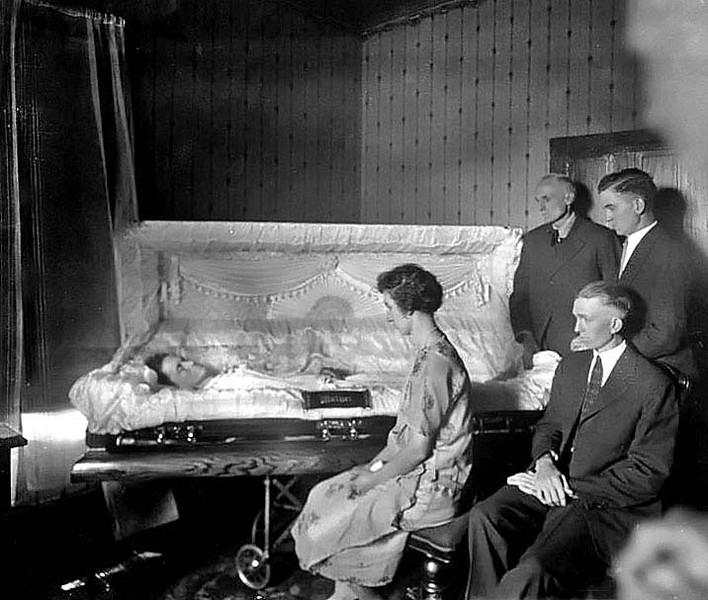 Funeral of Mrs. Zarko, Grafton, W. Va. 1927