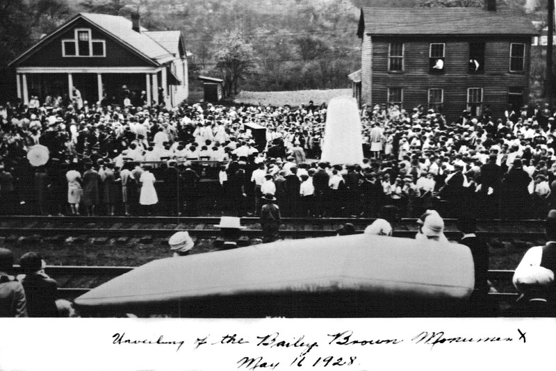 GraftonWV-BaileyBrownMonumentDedication1928