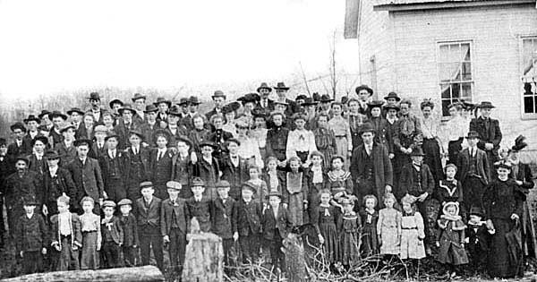 Wilson School, Taylor County - 1902
