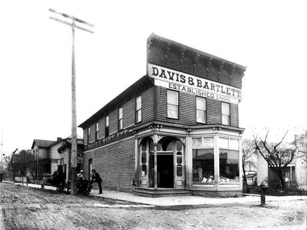 Davis and Bartlett Store, Grafton, W. Va.<br /> Date ca. 1890