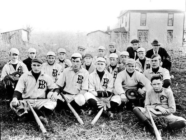 Baseball Team in Grafton, W. Va.