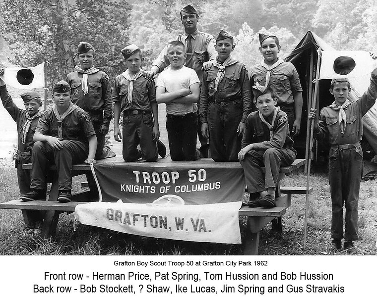 BoyScoutTroop50-1962GraftonWV