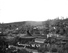 Roundhouse and the City of Grafton, WV 1890s.