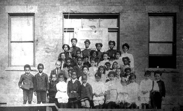 African-American School Children, Grafton, W. Va.