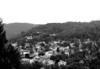 Aerial view of Grafton, West Virginia.