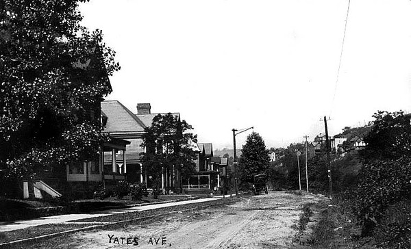 Yates Avenue in Grafton, W. Va. 1908