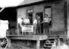 Crystal Ice Company Grafton, WV 1910.  Farris Setler 3 from left.