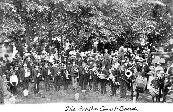 Grafton Cornet Band, Grafton, WV 1887.
