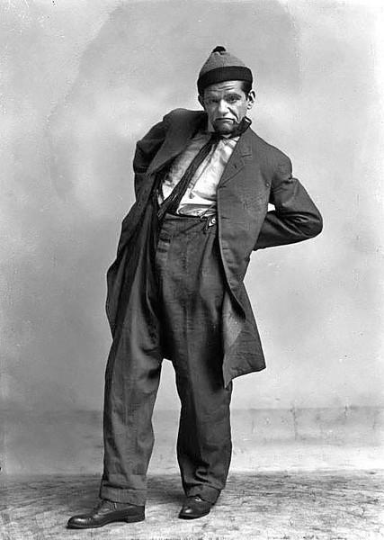 Member of F. LaMonte Merry Makers  Grafton, WV 1916