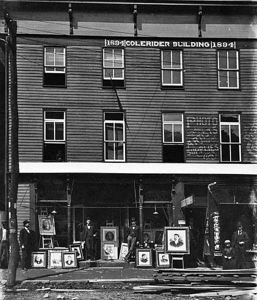 Colerider Building in Grafton, WV 1890's.