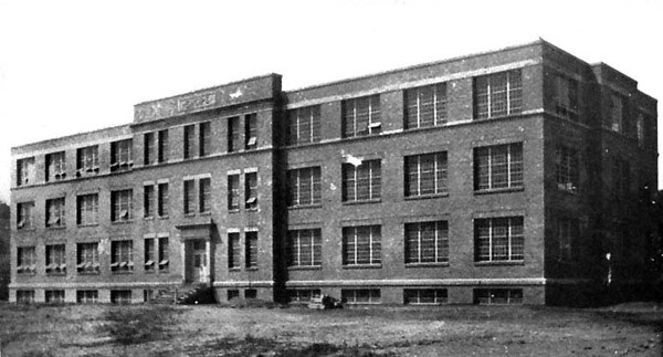 Shops Building at the West Virginia Industrial School for Boys, Taylor County, W. Va.<br />  1930