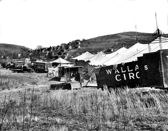 Wallace Brothers Circus, Grafton, W. Va.<br /> Date ca. 1920