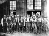 Workmen Pose in front of their Shop, Grafton, W. Va.