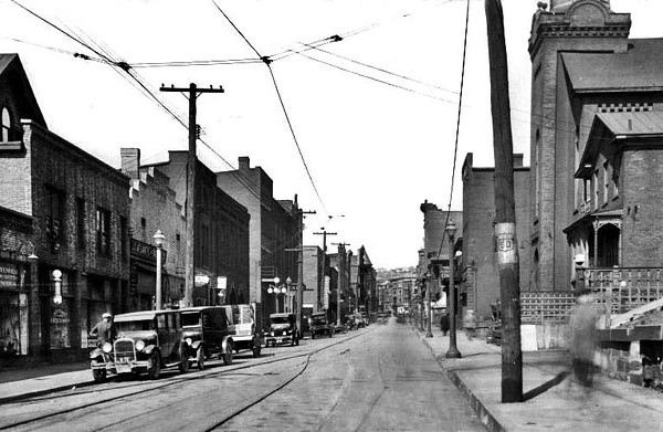 Main Street, Grafton, W. Va.<br /> Date 1928