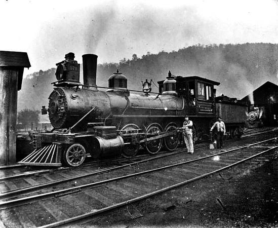 Baltimore and Ohio Train No. 578, Grafton, W. Va.
