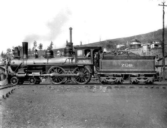 Baltimore and Ohio Train No. 708, Grafton, W. Va.