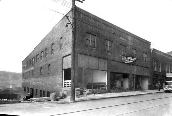 Cohen Building on Main Street in Grafton, W. Va.<br /> Date 1926