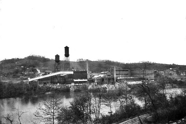 Hazel Atlas Glass Company, Fetterman, Grafton, W. Va.<br /> Date 1921