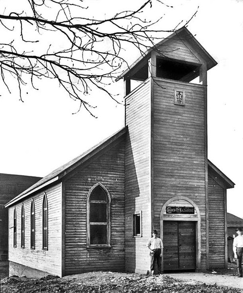 Church of the Nazarene, Grafton, W. Va.<br /> Date 1931